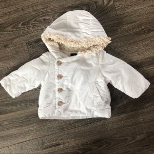 Baby Gap 0-6 months corduroy puffer coat
